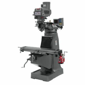 Jet 690401 Jtm 4vs Mill With Acu rite Vue Dro With X axis Powerfeed