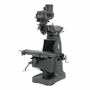 Jet 690013 Jtm 4vs Mill With X Y And Z axis Powerfeeds
