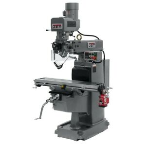 Jet 690601 Jtm 1050evs2 230 Mill With X axis Powerfeed