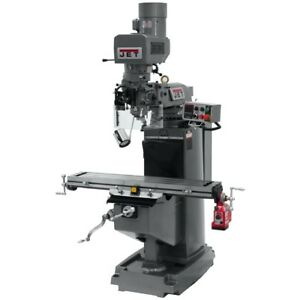 Jet 690501 Jtm 949evs 230 Mill With X axis Powerfeed