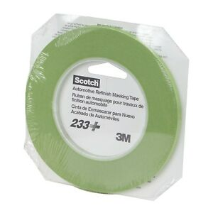 3m 26344 Scotch Performance Green Masking Tape 233 6 Mm Width 1 4 In