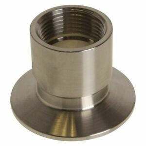 Npt Adapter Tri Clamp 2 Inch X Fnpt 1 In
