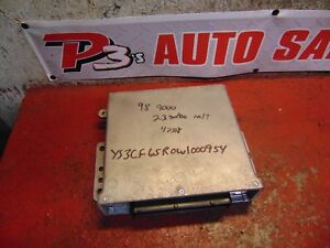 98 Saab 9000 2 3 Turbo Engine Computer 4780268 Ecm Ecu 199476
