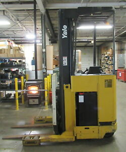 Yale Forklift 3500lb Standing Electric Lift New Battery Charger