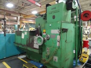 Mattison 24 42 Rotary Surface Grinder B33331