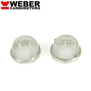 Velocity Screen Stack Domes 44idf 45 Dcoe O d 50mm Or 1 31 32 Weber