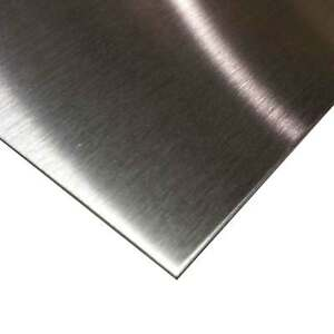 304 Stainless Steel Sheet 0 060 X 24 Inches X 48 Inches 3 Brushed Finish