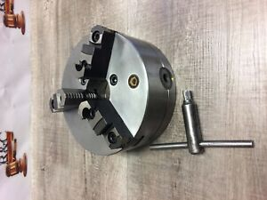 Nice Bison 8 3 Jaw Chuck W Plain Back Mount