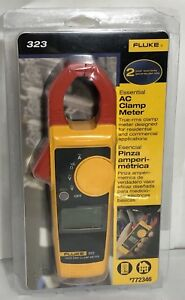New Fluke 323 True Rms Ac Clamp Meter 772346