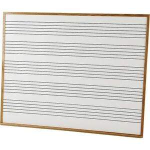 Vecchio Wall Mounted Music Staff Board 4 X 5 Ft Chalkboard 5 Staves Ln