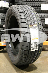 4 New Milestar Ms932 98v 50k mile Tires 2255017 225 50 17 22550r17