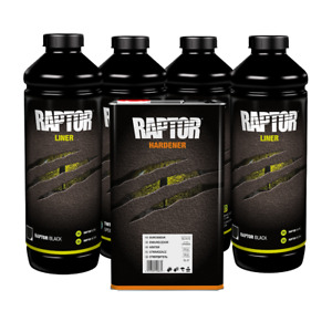 U Pol 820 Raptor Black Urethane Spray On Truck Bed Liner Gun Not Included
