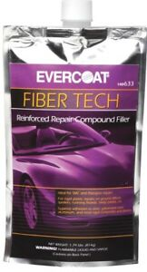 Evercoat 633 Fiber Tech Auto Body Repair Compound W Kevlar 24 Oz Pouch