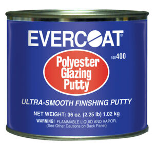 Evercoat 400 Ultra Smooth Auto Body Polyester Glazing Putty 20 Fl Oz
