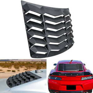 Abs Rear Window Louver Sun Shade Cover Gt Lambo Style For Chevy Camaro 2016 2018