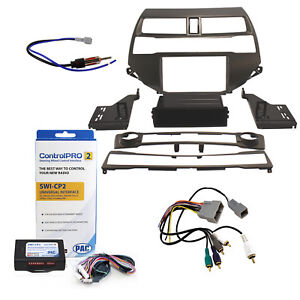 Radio Replacement Dash Kit Steering Controls Amp Integration Harness Antenna