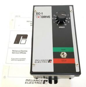 New Reliance Electric Dc 1 Vs Drive Dc1 3