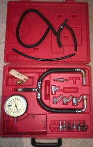 Snap On Vacuum Pressure Gauge Set Incomplete As Pictured