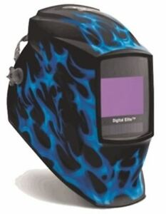 Miller Genuine Digital Elite Blue Flame Welding Helmet 269273