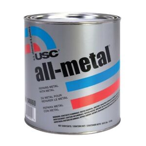 Usc 14060 All Metal Specialty Aluminum Filled Premium Auto Body Filler Quart