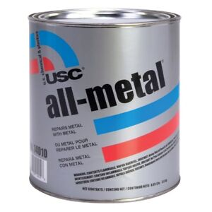 Usc 14010 All Metal Specialty Aluminum Filled Premium Auto Body Filler Gallon