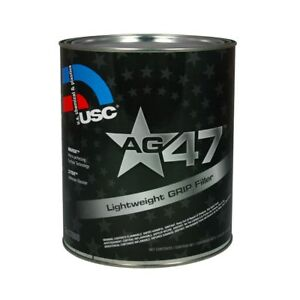 Usc 17000 Ag47 Lightweight Auto Body Grip Filler With Z Tek Gallon