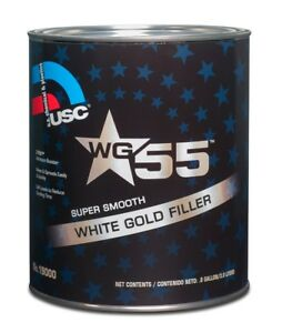 Usc 19000 Wg55 White Gold Lightweight Auto Body Filler Gallon