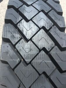 4tire Commercial Truck Tire 11r24 5 General D450 Drive Tires