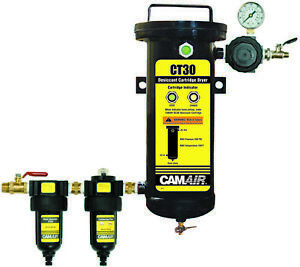 Devilbiss 130522 Camair Ct Plus 5 Stage Desiccant Air Dryer Filter System
