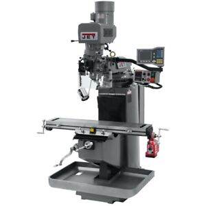 Jet 690515 Jtm 949evs Mill 3 axis Acu rite Vue Dro X axis Powerfeed