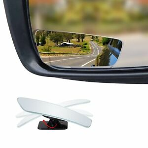 Frameless Blind Spot Mirror Rectangular 3 5 Convex Glass Mirror Pack Of 2
