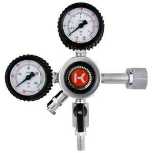Kegco Hl 62 Premium Commercial Grade Double Gauge Co2 Draft Beer Regulator