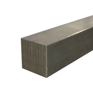 1018 Cold Finished Steel Square Bar 1 3 4 X 1 3 4 X 36 Long
