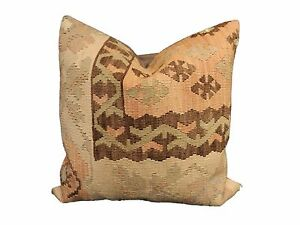 Superb Old Turkish Tribal Kilim Pillow 20 By 20