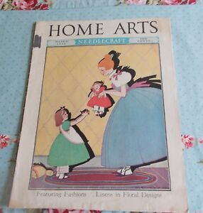 The Home Arts Magazine Needlecraft And Fashions Magazine March 1939