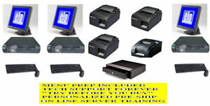 3 Station Computer Pizza Delivery W autodialer Pos Ursa 9122