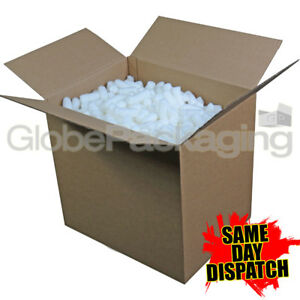 1 5 Cubic Foot Box Of Ecoflo Biodegradable Loose Void Fill Packing Peanuts