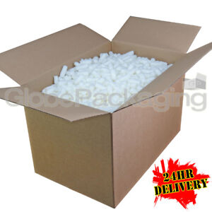 6 Cubic Foot Ft Of Ecoflo Biodegradable Loose Void Fill Packing Peanuts 24hrs