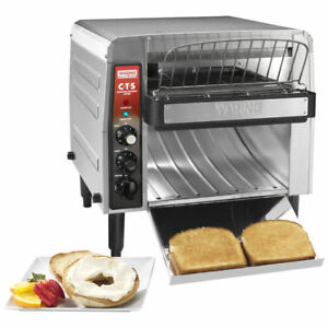 120v New Waring Cts1000 Commercial Electric Countertop Conveyor Toaster