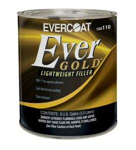 Evercoat 110 Evergold Professional Lightweight Auto Body Filler Gallon