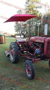 6a51 New Universal Tractor Red Deluxe Complete Umbrella Set for Massey Harris