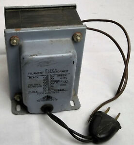 Filanment Transformer Power Supply Triad F 22a Vintage Electronics Industrial