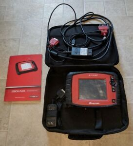 Snap On Ethos Plus Eesc319 Automotive Scan Tool Guide Book Carry Bag Snapon