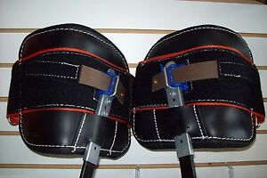 Replacement Pads For Climb Right Climbing Spurs hydra Cool W straps 1 8 Lbs Ea