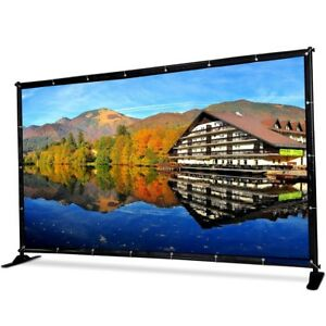 1 2 X 8 Banner Stand Adjustable Telescopic Show Wall Display With Carrying Bag