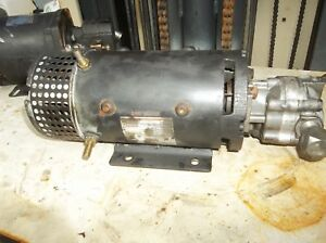 Crown Forklift Ohio Motor W Pump 24 Volt Dc Motor From 30sp36tt Order Picker