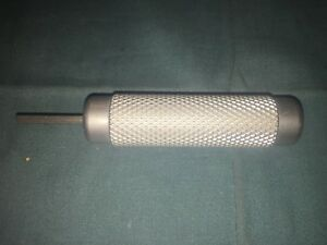 Stainless 4 Surgical Orthopedic Hex Driver Medical Vet Lab Medical Surgeon Prop