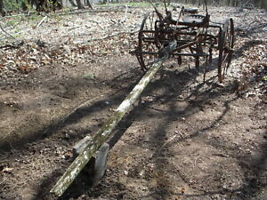 Antique Horse Drawn Cultivator Mccormick Deering