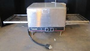 Lincoln Impinger 1301 4 Electric Conveyor Pizza Oven countertop stackable 1546