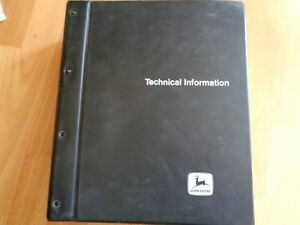 John Deere 9610 Combine Parts Catalog In Binder Huge Pc2702 1044pgs